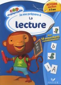 Françoise Perraud et Florence Doutremépuich - Je me prépare à la lecture - Moyenne section, 4-5 ans.