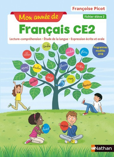 Francais Ce2 Mon Annee De Francais Fichier Eleve 2 Grand Format