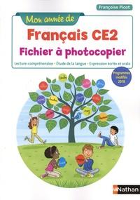Pdf download ebook gratuit Français CE2 Mon année de français  - Fichier à photocopier