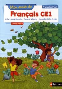 Françoise Picot - Mon année de français CE1 - Fichier-élève 1.