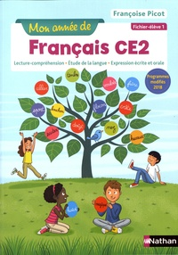 Françoise Picot - Mon année de français CE2 - Ficher-élève 1.