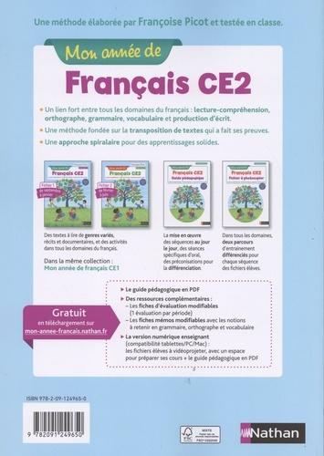 Mon année de français CE2. Ficher-élève 1  Edition 2019
