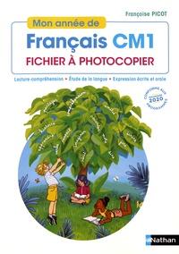 Françoise Picot - Mon année de Français CM1 - Fichier à photocopier.