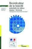 """Françoise Quiniou et Edouard His - Bio-indicateur de la toxicité potentielle de milieux aqueux : bio-essai """"développement embryo-larvaire de bivalve""""."""