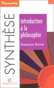 Françoise Raffin - Introduction à la philosophie.
