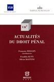 Françoise Roggen - Actualités du droit pénal.