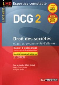 Françoise Rouaix et Valérie Gomez-Bassac - DCG 2 Droit des sociétés et autres groupements des affaires.