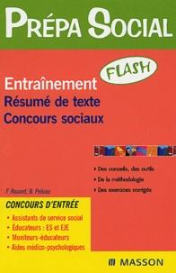 Françoise Rouard et Béatrice Peluau - Entraînement Résumé de texte Concours sociaux.