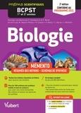 Françoise Saintpierre et Cédric Bordi - Biologie BCPST 1re et 2e années - Mémento - Résumés des notions, Schémas de synthèse.