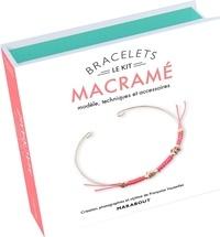 Françoise Vauzeilles - Le kit bracelet macramé - Modèle & accessoires. Avec 6 perles à écraser, 10 petits anneaux dorés, 3 mètres de cordelière, 1 jonc doré, 1 livre d'explications.