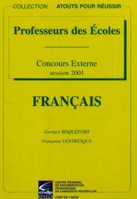 Françoise Ventresque et Georges Roquefort - .