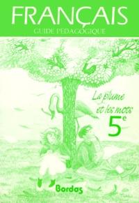 Livre Pdf Francais 5eme La Plume Et Les Mots Guide Pedagogique