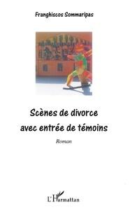 Franghiscos Sommaripas - Scènes de divorce avec entrée de témoins.