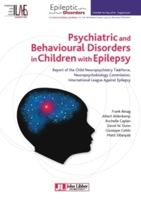 Era-circus.be Psychiatric and Behavioural Disorders in Children with Epilepsy - Report of the Child Neuropsychiatry Taskforce, Neuropsychobiology Commission, International League Against Epilepsy Image