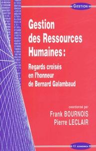 Deedr.fr Gestion des ressources humaines : regards croisés en l'honneur de Bernard Galambaud Image