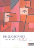 Frank Burbage - Philosophie Tle L-ES-S.