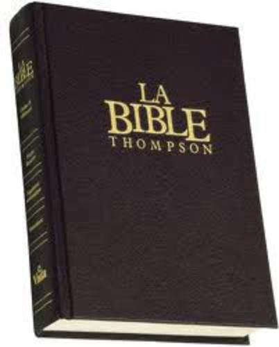Frank-Charles Thompson - La Bible Thompson - Avec chaîne de références, version Louis Segond révisée, dite à la Colombe.