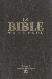 Frank-Charles Thompson - La Bible Thompson - Couverture rigide noire avec onglets.
