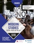 Frank Cooney et Gary Hughes - Higher Modern Studies: Social Issues in the UK: Second Edition.