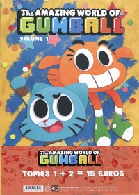 Frank Gibson et Patrick Wirbeleit - The Amazing World of Gumball  : Pack en 2 volumes : Tomes 1 et 2.