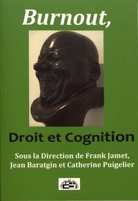 Frank Jamet et Jean Baratgin - Burnout, droit et cognition.
