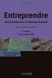 Frank Janssen - Entreprendre - Une introduction à l'entrepreneuriat.