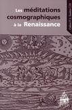 Frank Lestringant - Les méditations cosmographiques à la Renaissance.