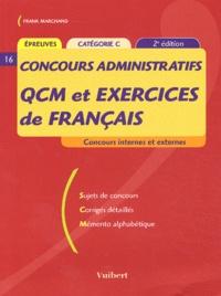 Frank Marchand - Concours administratifs QCM et exercices de français Catégorie C.