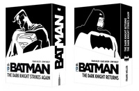 Frank Miller - Batman  : Coffret en 2 volumes : The Dark Knight Returns ; The Dark Knight Strikes Again.
