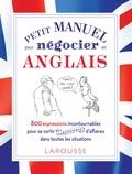 Frank-Olivier Hansberger - Petit manuel pour négocier (subtilement) en anglais !.