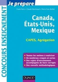 Frank Paris et Claude Martinaud - Canada, Etats-Unis, Mexique - Capes-Agrégation - Capes-Agrégation Géographie.