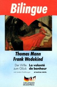 Frank Wedekind et Thomas Mann - .