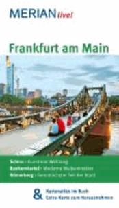 Frankfurt am Main - MERIAN live! - Mit Kartenatlas im Buch und Extra-Karte zum Herausnehmen.