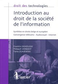 Ucareoutplacement.be Introduction au droit de la société de l'information - Synthèse en droits belge et européen Image