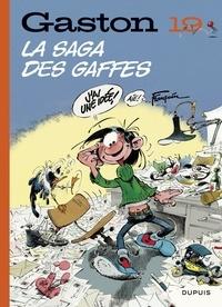 Franquin - Gaston (Edition 2018) - tome 19 - La saga des gaffes (Edition 2018).