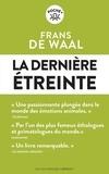 Frans De Waal - La dernière étreinte.