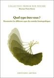 Frans Kusse - Quel type êtes-vous ? - Reconnaître les différents types des remèdes homéopathiques.