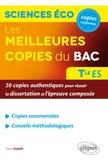 Frantz Badufle - Les meilleures copies du bac Sciences économiques et sociales Terminale ES - 20 copies authentiques pour réussir la dissertation et l'épreuve composée.