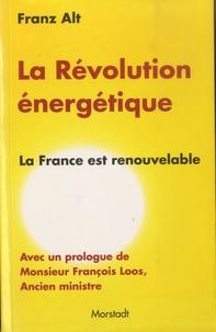 Franz Alt - La Révolution énergétique - La France est renouvelable.