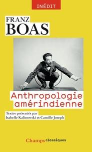 Franz Boas - Anthropologie amérindienne.