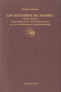 Franz Cumont - Les Mystères de Mithra.