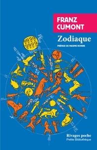 Franz Cumont - Zodiaque.