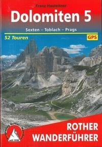 Franz Hauleitner - Dolomiten 5 - 52 Touren.