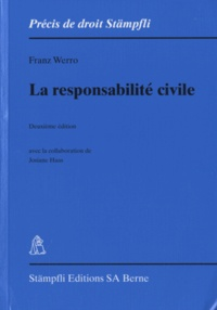 Franz Werro - La responsabilité civile.