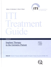 Frauke Müller et Stephen Barter - Implant Therapy in the Geriatric Patient.