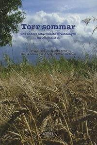 Frauke Natusch - Torr Sommar - Und andere scwedische Erzählungen im Originaltext.