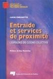 Frechette - Entraide et services de proximité : l'expérience des cuisines collectives.