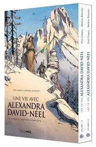 Fred Campoy et Mathieu Blanchot - Une vie avec Alexandra David-Néel  : Coffret en 2 volumes : Tomes 1 et 2.