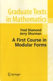 Fred Diamond et Jerry Shurman - A First Course in Modular Forms - N°228.