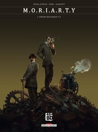 Fred Duval et Jean-Pierre Pécau - M.O.R.I.A.R.T.Y Tome 1 : Empire mécanique 1/2 - 48H BD 2020.